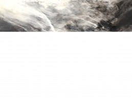 NORAH BORDEN - UNTITLED, ACRYLIC ON PANEL, 48