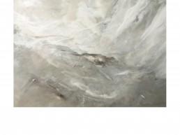 NORAH BORDEN - CLARITY, ACRYLIC ON PANEL, 48